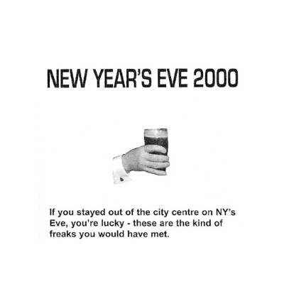 New Years Eve 2000, Dublin – The Slate