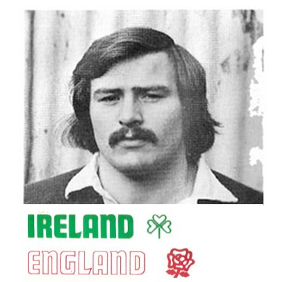 Ireland V England, Rugby International Match Programme -  5 Feb, 1977