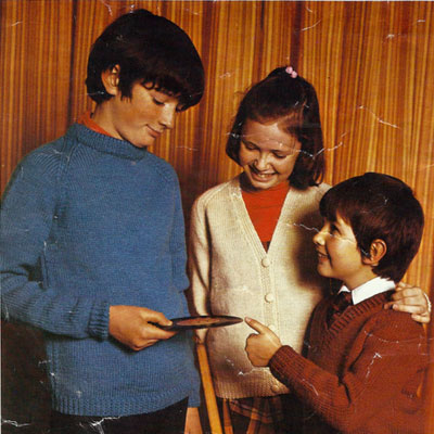 6 Irish Family Knitting Patterns – 1960s & 70s
