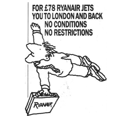 Old Adverts #10 - Ryanair  - March 1988