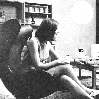 Advert for Enviro, Irish Furniture Fair, RDS - 1970