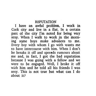 Reputation 1973