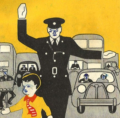 Irish Rules of the Road Booklet- 1957