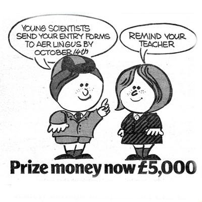 Adverts for Young Scientist of the Year – 1978, 1979, 1987