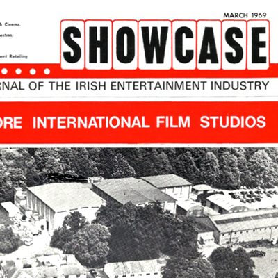 Showcase - Irish Enertainment Industry Mag - 6 Covers from the late 60s