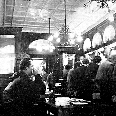The Stag's Head Pub, Dublin – 1969