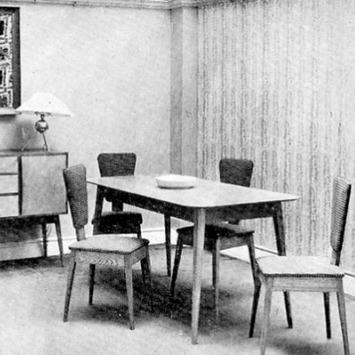 Old Adverts #102 - Brown Thomas, Table & Chairs, 1952