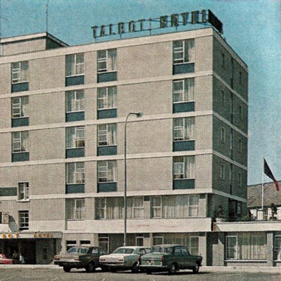 Old Adverts #30 - Talbot Hotel - The Pulse of Wexford - 1976