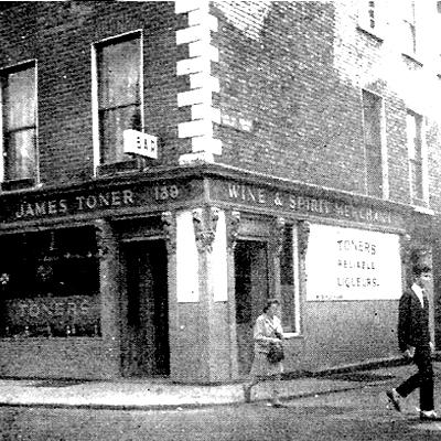 Toner's Pub, Baggot St, Dublin – 1969