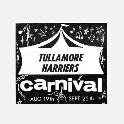 Old Adverts #86 – Tullamore Harriers Carnival, August 1966