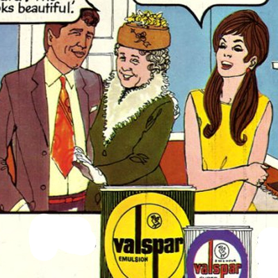 Another Valspar Paint Advert - 1970