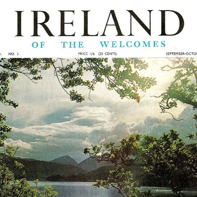 Bord Failte - Ireland of the Welcomes - 1965
