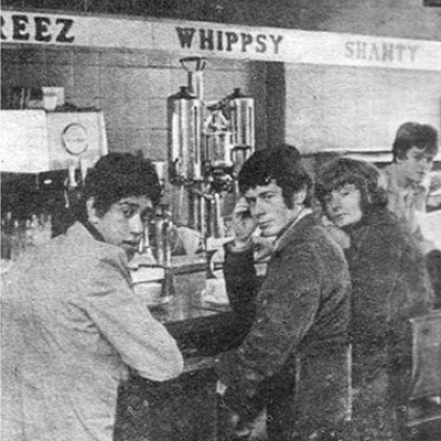 Old Adverts #52 – Wimpy, Dorset St, Dublin with Phil Lynott, 1968