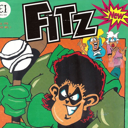 Fitz Comic Issue 1, Ireland, 1995