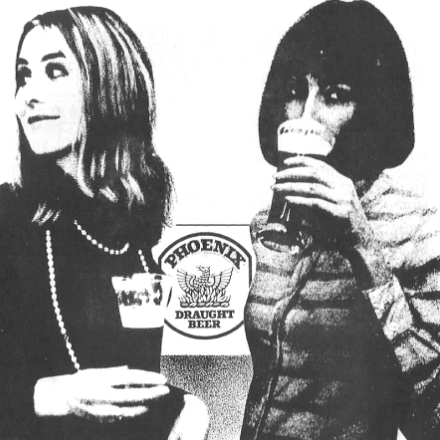 Phoenix Beer – Waterford – 2 Adverts from 1969
