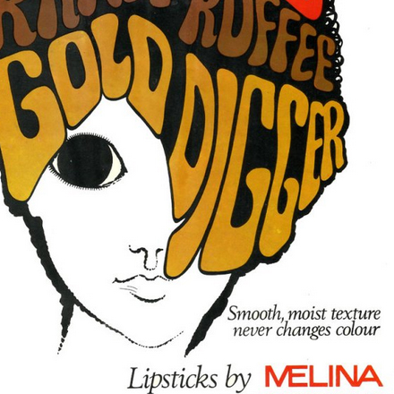 Lipsticks by Melina, Cork – 1969