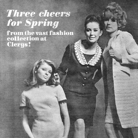 Clerys of Dublin -  Spring Fashion Advert - 1967