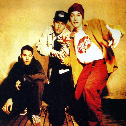 Beastie Boys Backstage in Belfast – d-Side Magazine April 1995