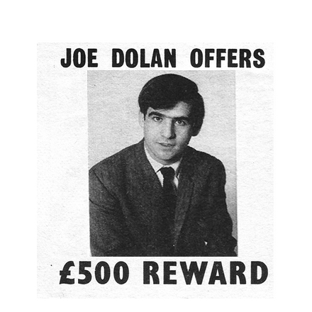 Joe Dolan offers £500 reward for info on rumour monger – 1968