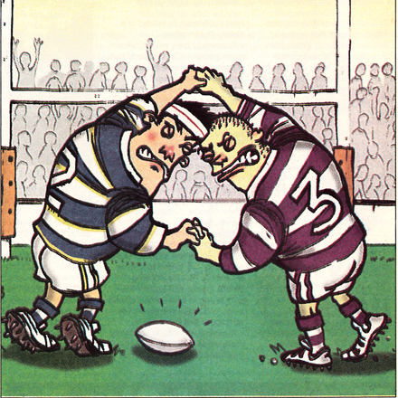 Schools Rugby: The Terrible Truth  –  The Slate, 2003