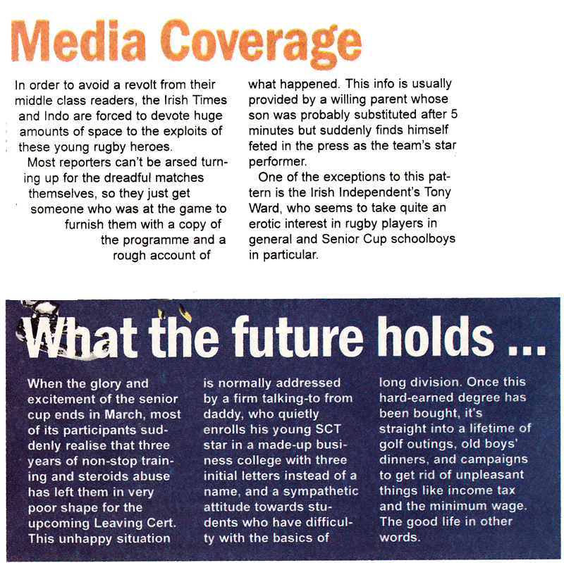 media coverage rugby the slate