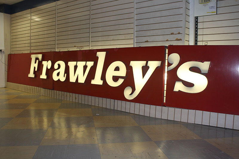 frawleys-sign