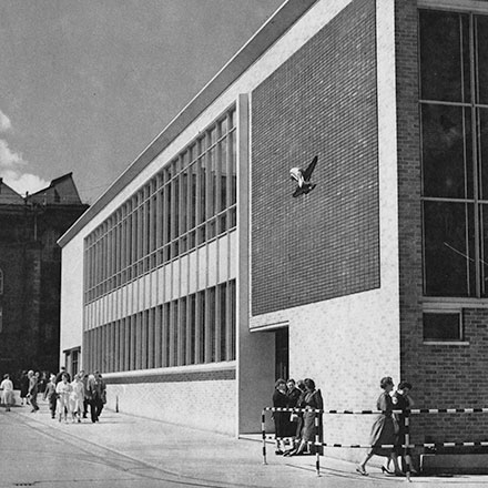 5 Photos of Dublin Buildings by RS Magowan 1960/61