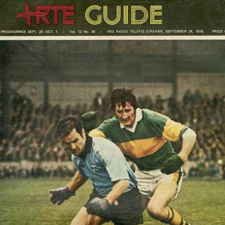 All Ireland Football Finals - RTE Guide Covers 1975 & 1976