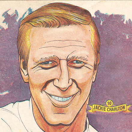 Jack Charlton - The Hornet Comic 1969