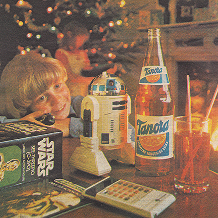 Christmas Advert for Tanora - 1980
