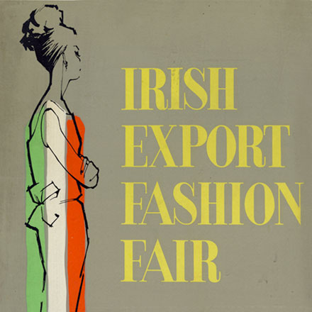 Poster for Irish Export Fashion Fair 1964