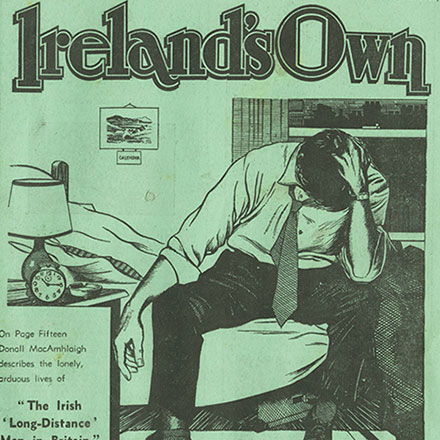 Four Ireland's Own Covers illustrated by Sean Slattery 1970