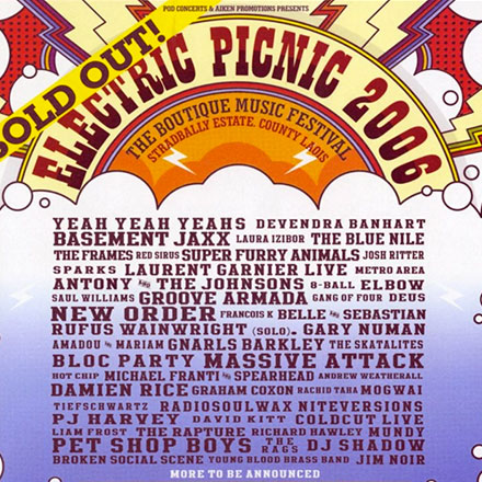 Advert & Preview for Electric Picnic 2006