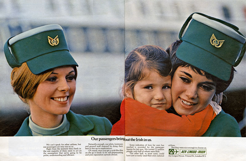 aer lingus Sunday Times March 1970