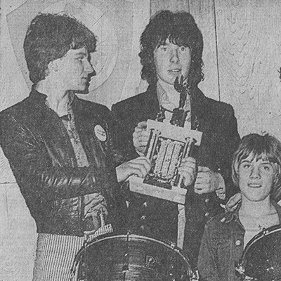 U2 win Limerick Civic Week Pop 1978 - Evening Press