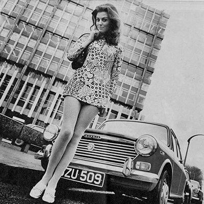 4 Irish Car Adverts from 1970