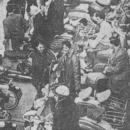 Annual Blesssing of Scooters and Mopeds, Dublin 1961