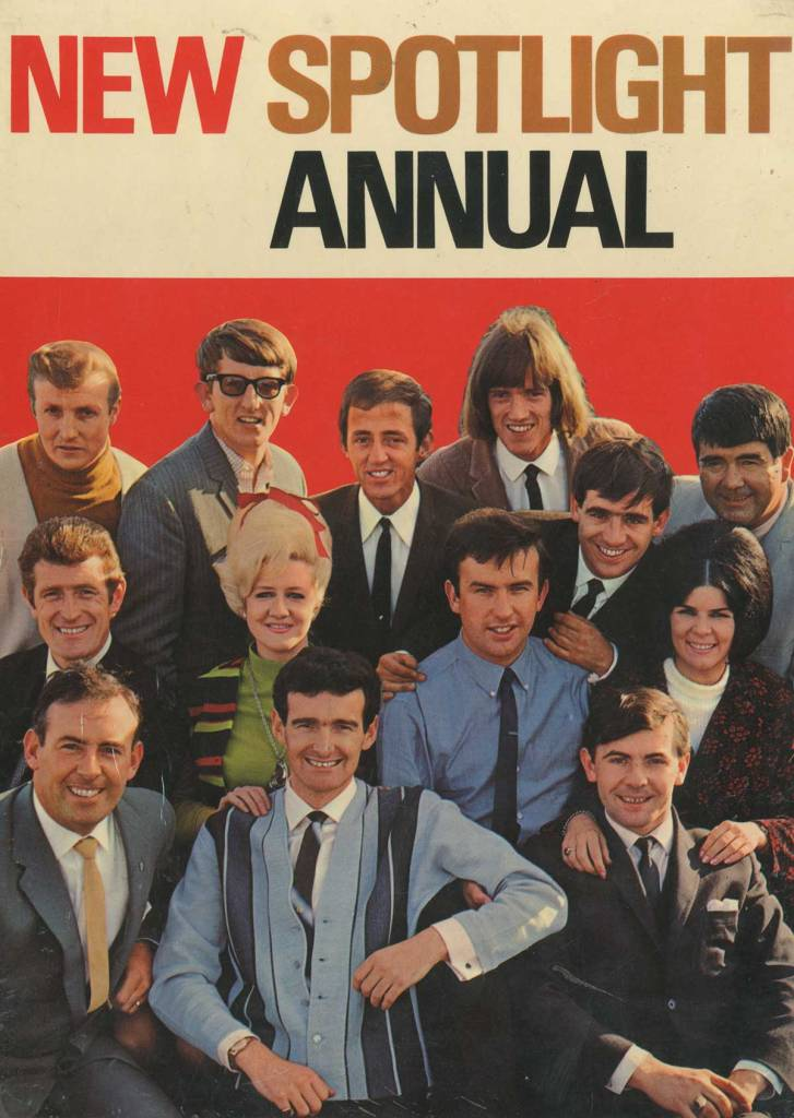 new spotlight annual 1968 front cover