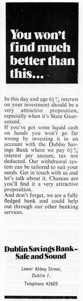 Dublin Savings Bank