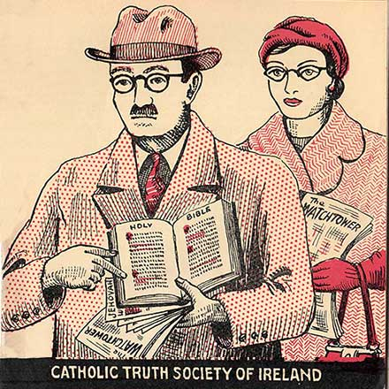 4 booklets from The Catholic Truth Society of Ireland 1950s