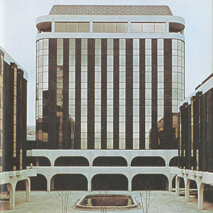 Advert for Irish Life Centre Dublin 1977