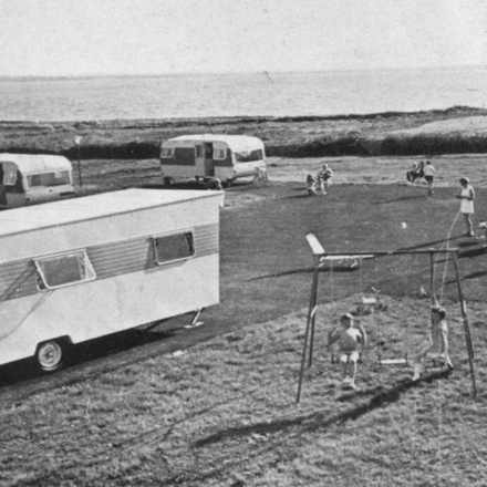 Aylevarroo Caravan Park, Kilrush Co Clare - c1977